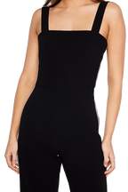 TARA JUMPSUIT in colour CAVIAR