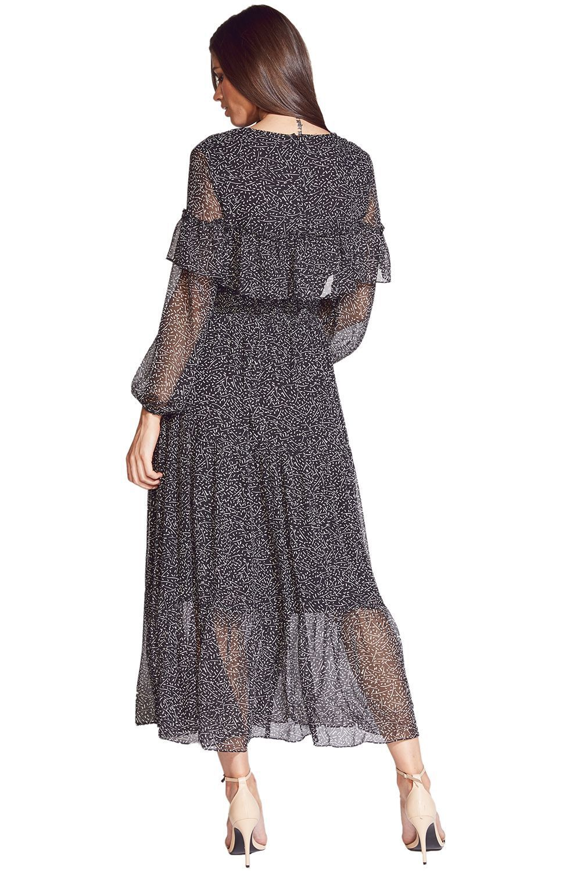 KAMILA DRESS in colour TAP SHOE