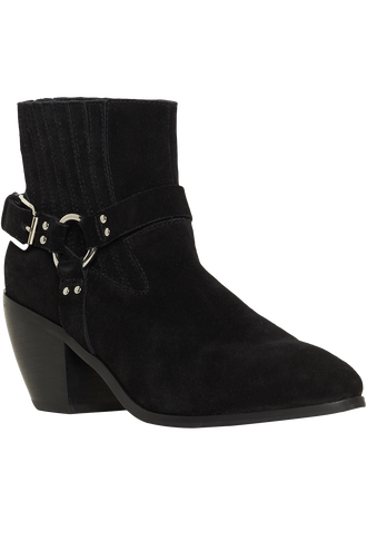 HORSING AROUND ANKLE BOOT in colour METEORITE