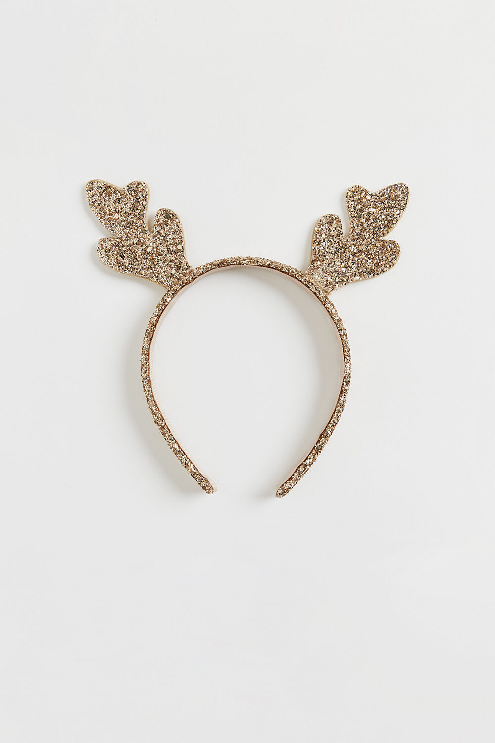 GOLD REINDEER HEADBAND in colour GOLD EARTH