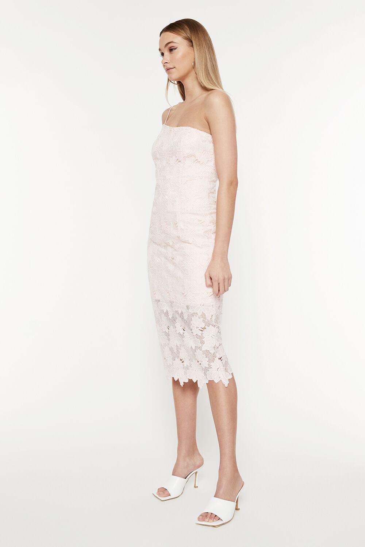 DESIREE LACE DRESS in colour BLOSSOM