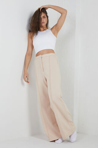 BRIA CROP TOP in colour BRIGHT WHITE