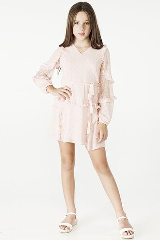 MIMI DOBBY DRESS in colour POTPOURRI