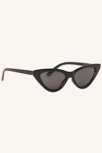 AVA CAT EYE SUNGLASSES in colour METEORITE