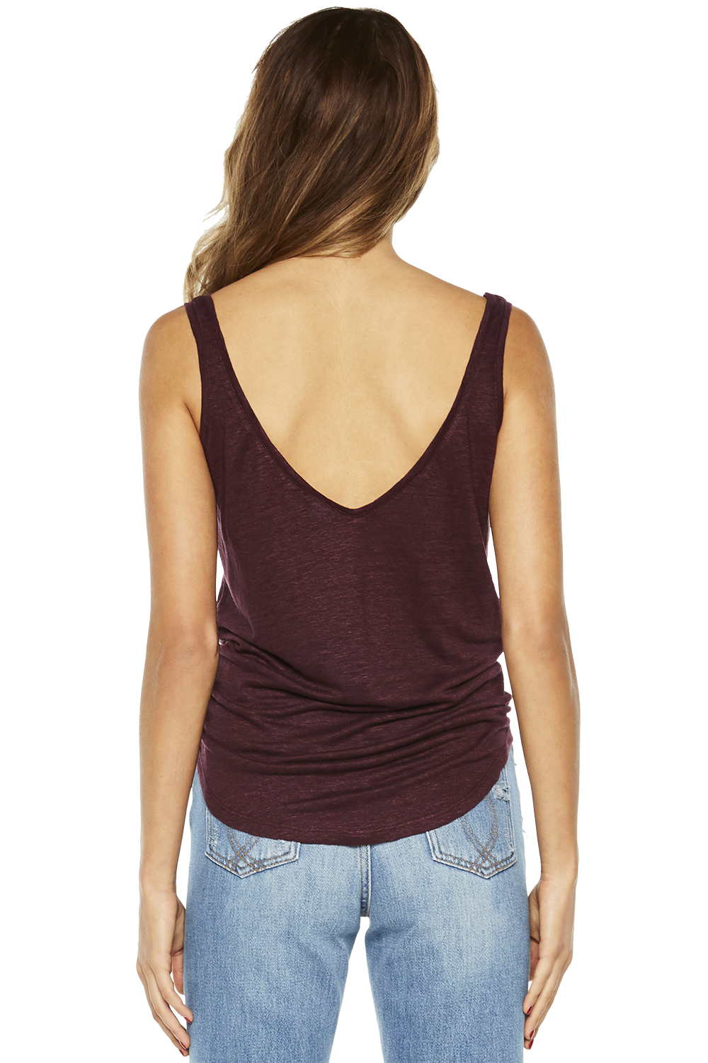 RIKI TANK TOP in colour RHODODENDRON