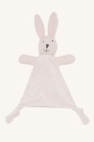WILD BUNNY COMFORTER in colour IMPATIENS PINK