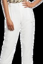 NATALIA CARGO PANT in colour CLOUD DANCER
