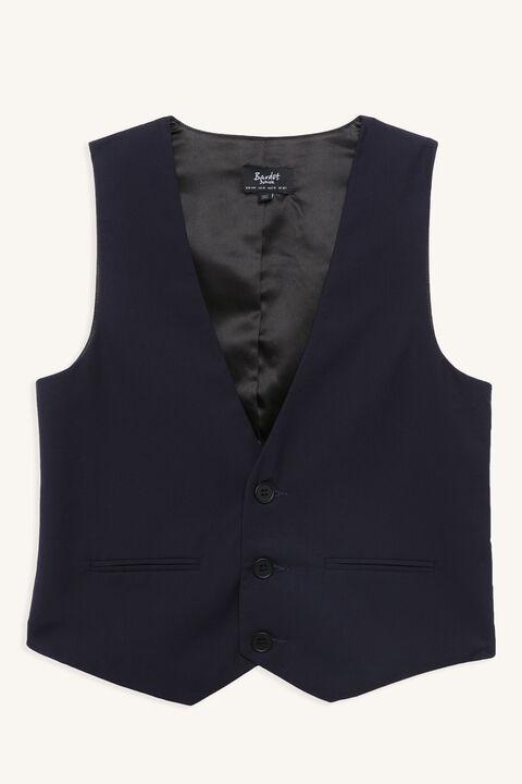 HARRY SUIT VEST in colour DRESS BLUES