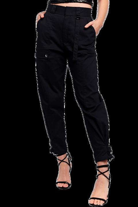 RILEY CARGO PANT in colour CAVIAR