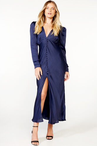RYLEE DRESS in colour MARITIME BLUE
