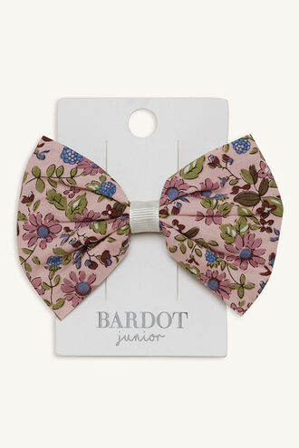 AGNES BOW CLIP in colour BRIGHT WHITE