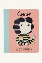COCO BOARD BOOK in colour BRIGHT WHITE