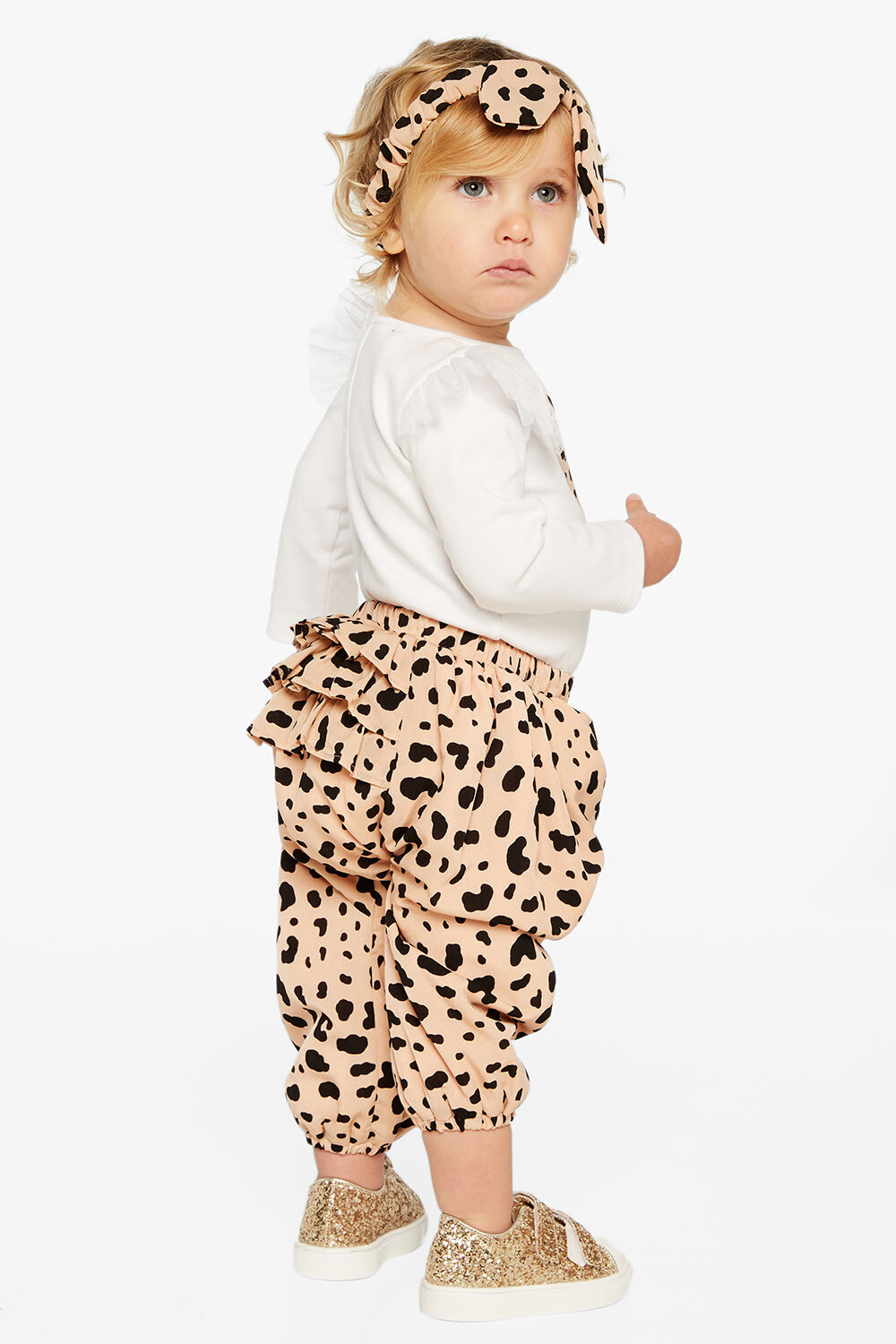 SADIE PULL ON PANT in colour BISQUE