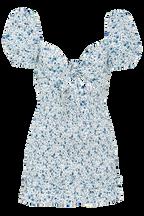 HALSEY MINI DRESS in colour TRUE NAVY