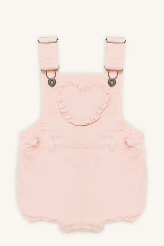 HEART OVERALL in colour CRYSTAL PINK