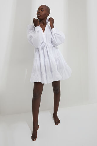 THE MINI POPLIN DR in colour BRIGHT WHITE