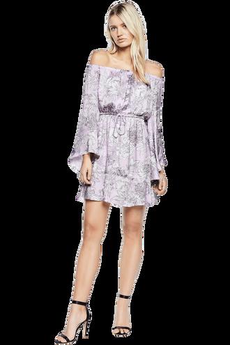 BRITT DRESS in colour ORCHID BLOOM