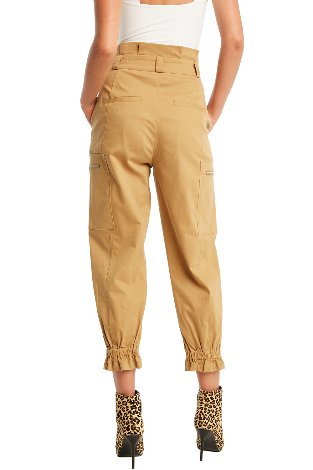 KAYA CARGO PANT in colour LARK