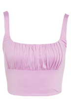 IRO TOP in colour VIOLET TULLE