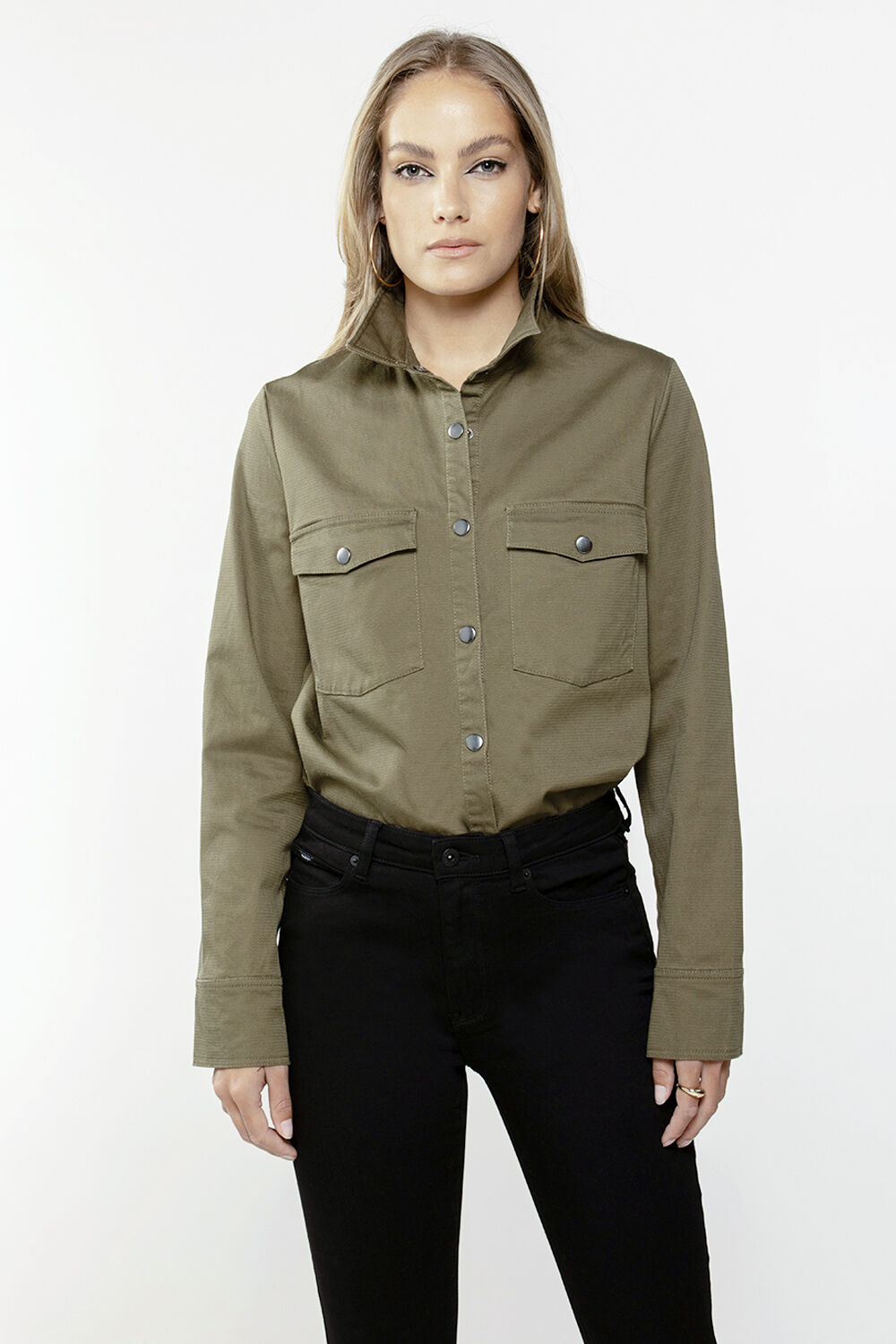 UTILITY SHIRT in colour IVY GREEN