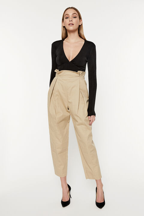 PAPERBAG UTILITY PANT in colour MOONLIGHT