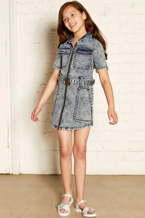 NIKKI DENIM SHIRT DRESS