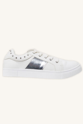 LEO SNEAKER in colour CAVIAR