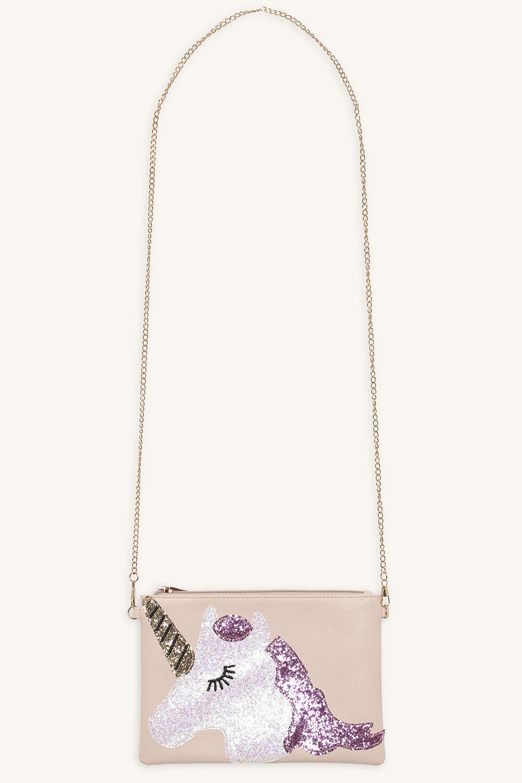 UNICORN SLING BAG in colour PINK CARNATION