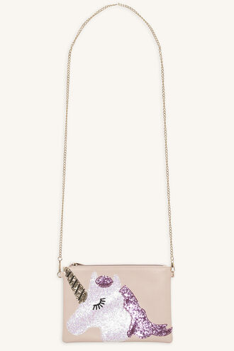 UNICORN SLING BAG in colour PINK CARNATION