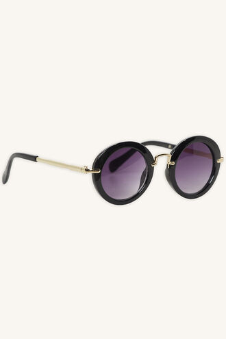 ISABELLA ROUND SUNGLASSES in colour METEORITE