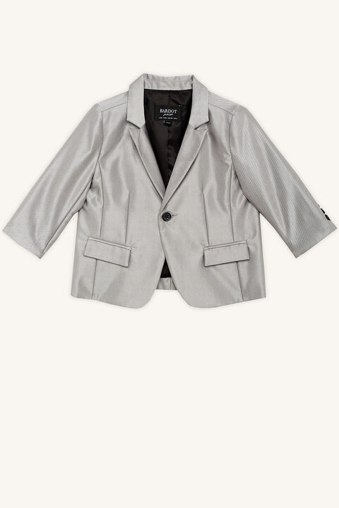 BABY BOY LEX CHINTZ SUIT JACKET in colour LUNAR ROCK