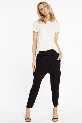 BELEN PANT in colour CAVIAR