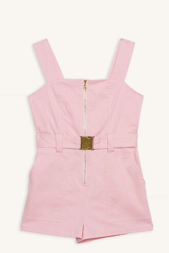 NEL UTILITY PLAYSUIT in colour CAMEO PINK