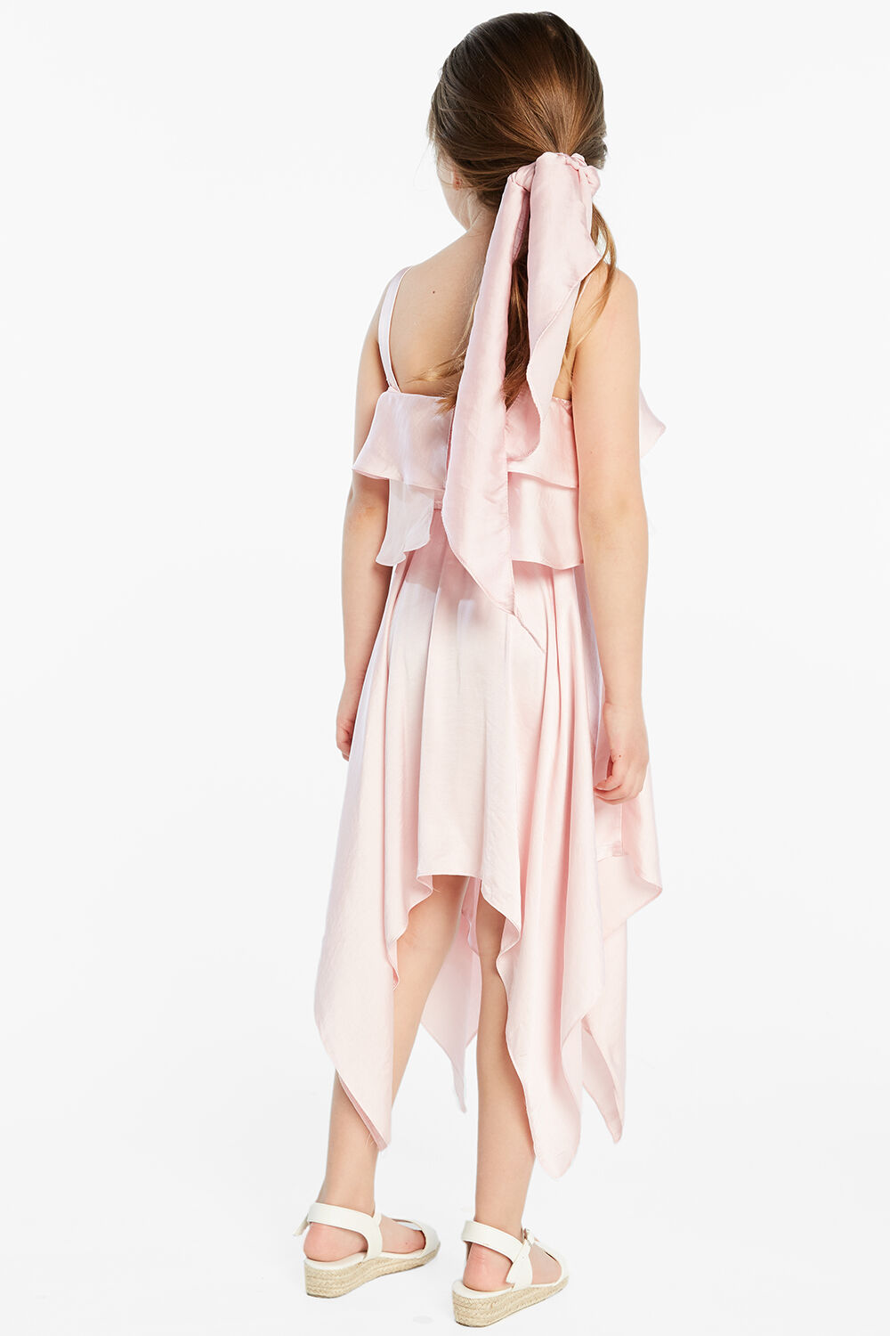 ADDY HANKY DRESS in colour PARFAIT PINK