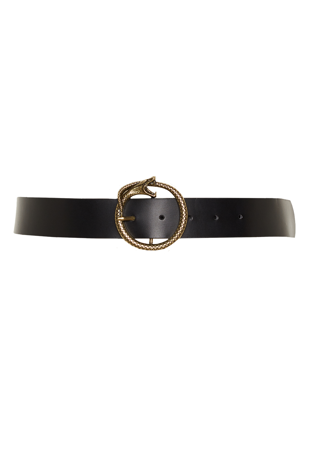 SNAKE BUCKLE BELT in colour METEORITE