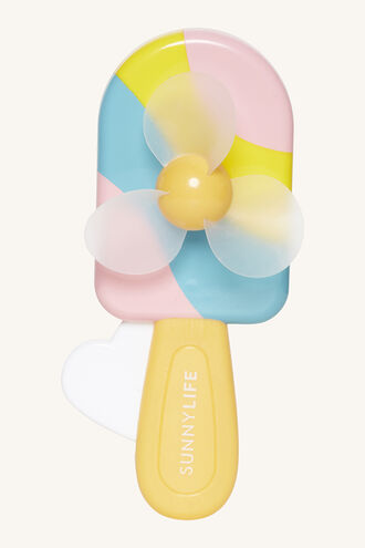 ICE LOLLY KIDS FAN in colour BRIGHT WHITE