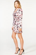 SAMARA MINI DRESS   in colour SLATE ROSE