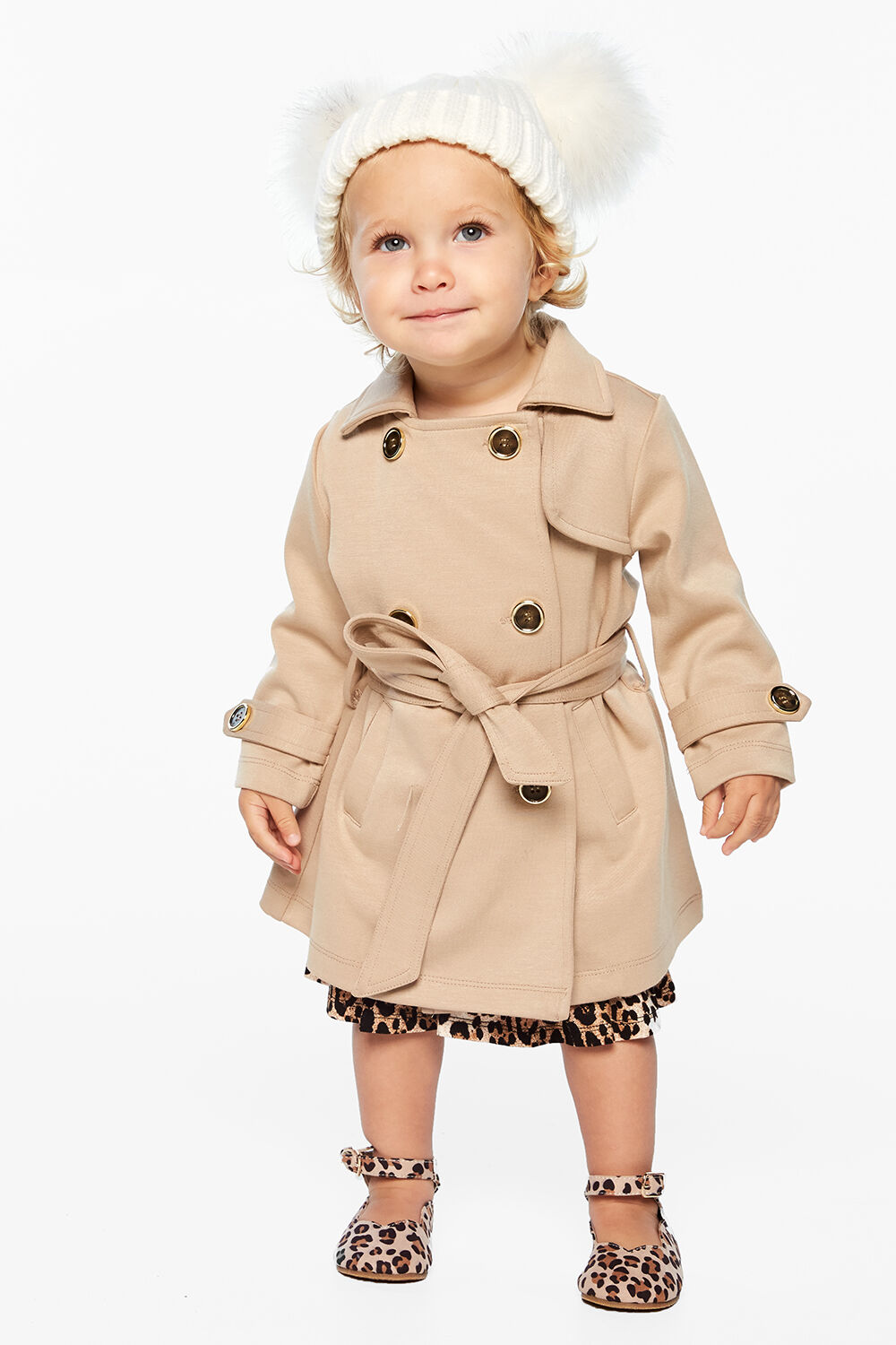 PONTI TRENCH JACKET in colour MOONLIGHT