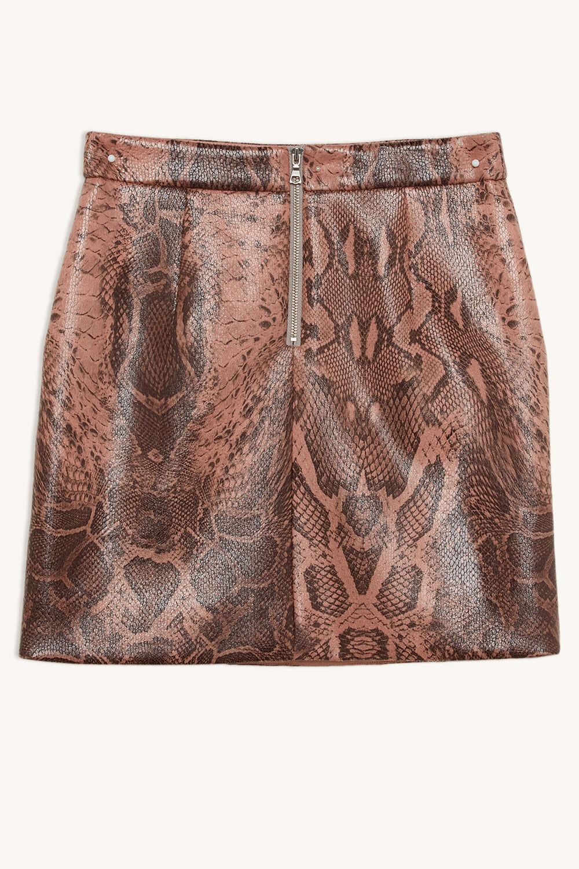 f300fbf558ba Alexis Pu Snake Mini Skirt | Tween 7-16 Tween Girls 7-16 | Bardot Junior