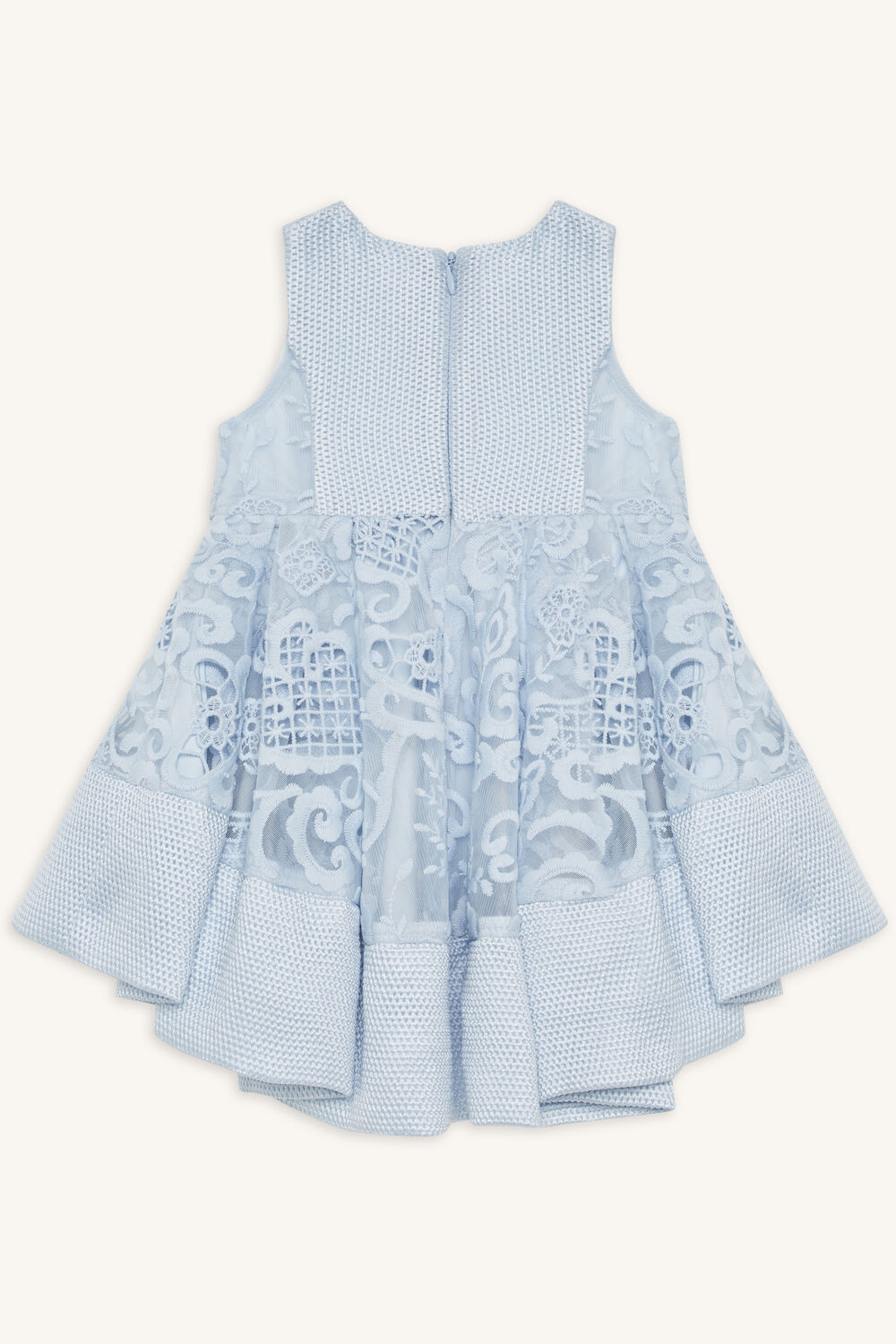 BABY GIRL AVA STARLET DRESS in colour BALLAD BLUE