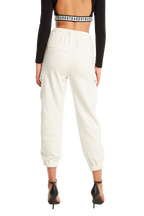 CARGO TRACKIE PANT in colour BRIGHT WHITE