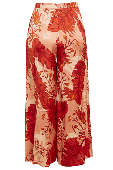 TROPICAL PANT in colour MINERAL RED