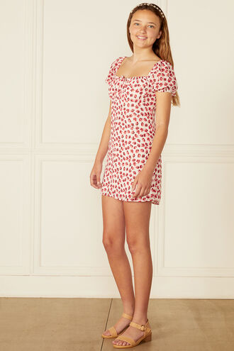JUNIPER MINI DRESS in colour STAR WHITE