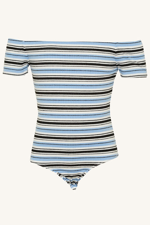 JUNIOR GIRL CIARA BODYSUIT in colour BALLAD BLUE