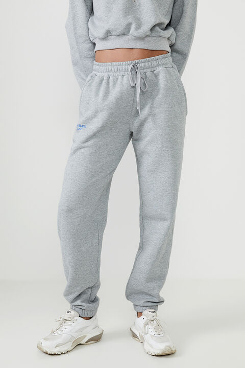 THE ORGANIC SWEAT PANT  in colour SMOKED PEARL