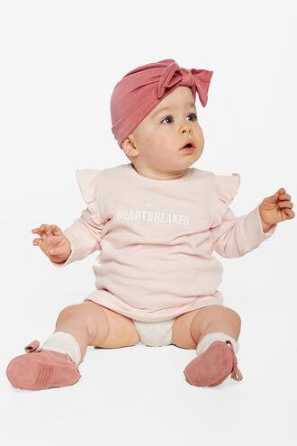 MINI SWEATER DRESS in colour PRIMROSE PINK