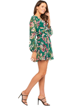 BAMBI FLORAL DRESS in colour AMAZON
