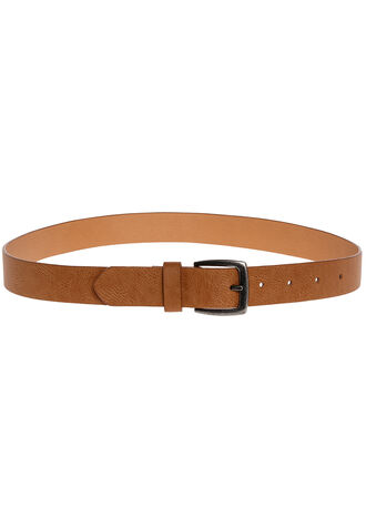 BOYS BASIC BELT in colour TAWNY BIRCH