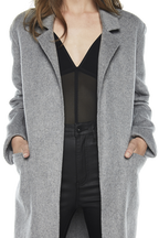 CHIME COAT in colour FROST GRAY