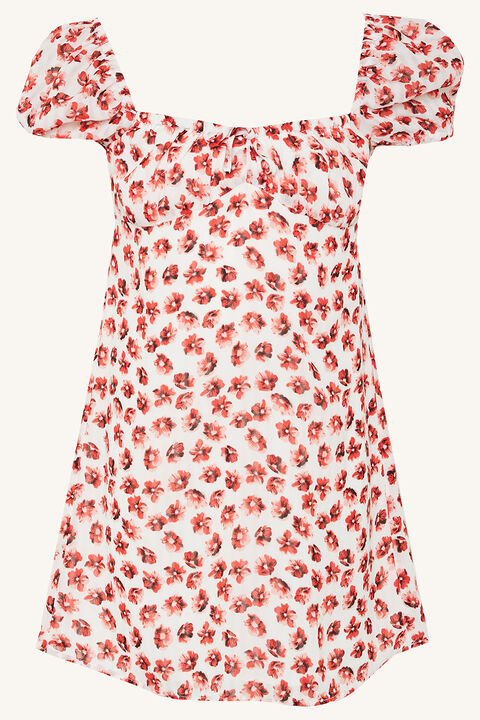 JUNIPER MINI DRESS in colour STAR WHITE